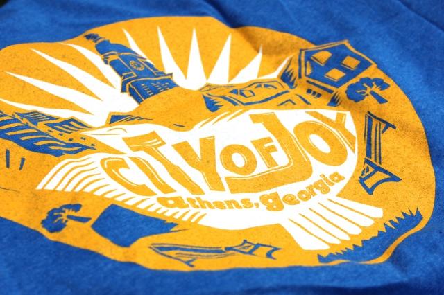 City of Joy T-Shirt back